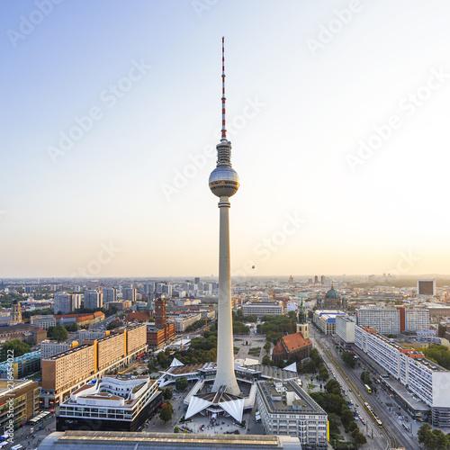 Canvas Berlijn Berliner Fernsehturm