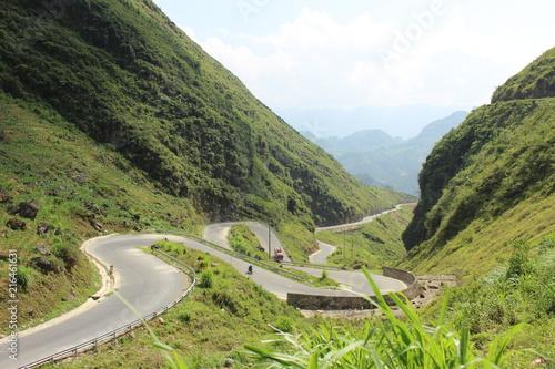 Canvas Pistache 山道