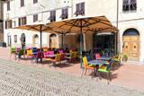 Street in San Gimignano,