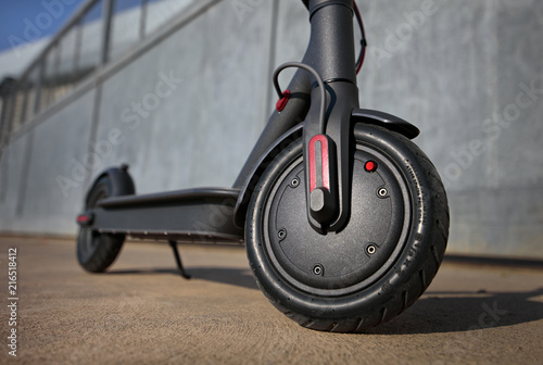 electric scooter front view