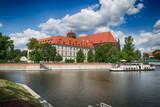 Stare miasto w mieście Wrocław, Polska