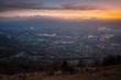 Stunning sunrise above Salzburg - 216554837