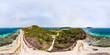 360 degree panorama of Tobago cays