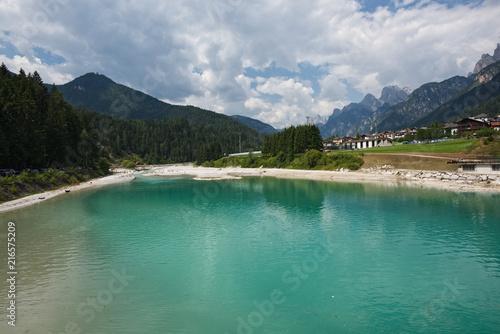 I magnifici colori del Lago di Auronzo