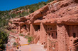 The special Manitou Cliff Dwellings museum