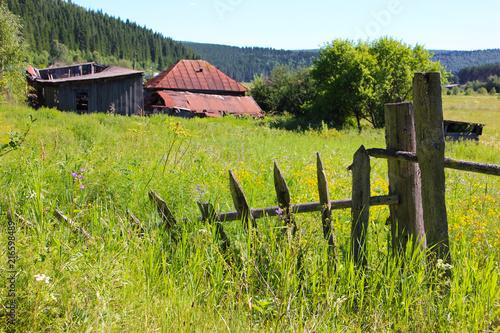Canvas Pistache old fence