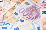 Banknotes of the european union - 216611499
