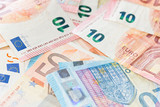 Banknotes of the european union - 216614099