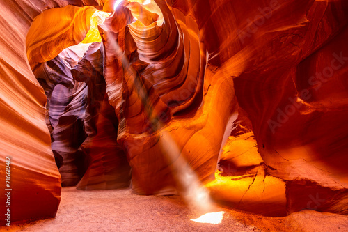 Canvas Rood paars Upper Antelope Canyon