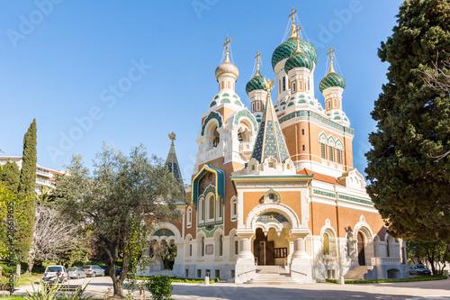 Canvas Nice Orthodoxy church Nice France