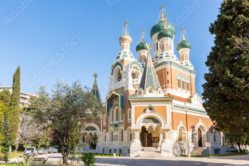 Aluminium Nice Orthodoxy church Nice France