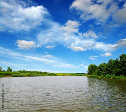 Sticker Lake water