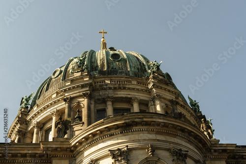 Canvas Berlijn Berliner Dom und Schiff