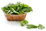 Fresh coriander leaves - 216635657