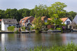 The idyllic river Rotte in Rotterdam