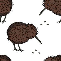 seamless pattern with bird © sasha