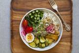 Vegetarian lunch bowl