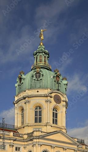 Canvas Berlijn Charlottenburg Palace in Berlin. Germany