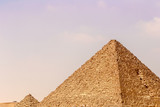 Image of the great pyramids of Giza, in Egypt. - 216699680