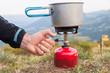 Réchaud à gaz camping