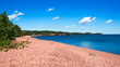 Iona's Beach on the north shore of Lake Superior in Minnesota