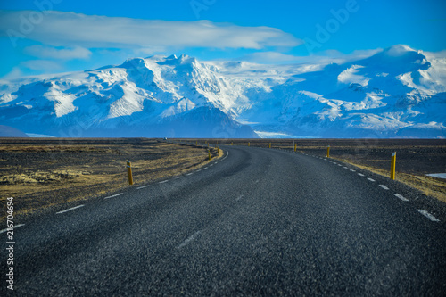 Road on Iceland - 216704694