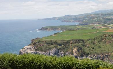 Cliffs and Island Landscape © Kelsey