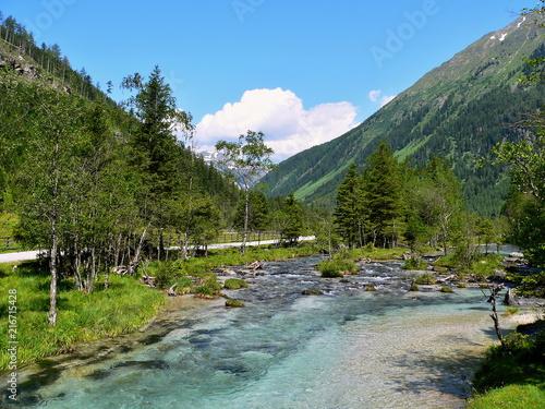 Austrian Alps-valley Weisspriachtal - 216715428