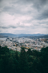 Overlooking Chinese City 1 © Preston