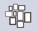 Wooden frames on the wall - 216742446