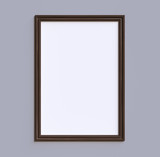 Wooden frame on the wall - 216742465
