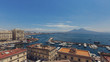 Quadro View of Gulf of Naples from Naples, Italy