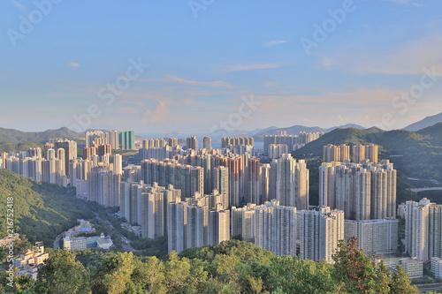 a New town of Hongkong Tseung Kwan O - 216752418