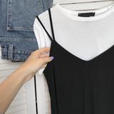Black dress on a white background