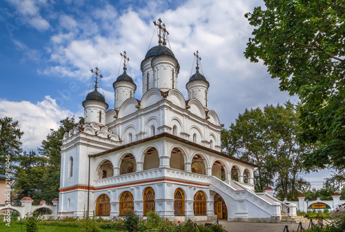 In de dag Moskou Cathedral in Bolshie Vyazyomy, Russia