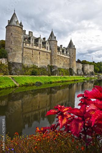 Château de Josselin en France