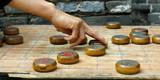 playing Chinese chess game