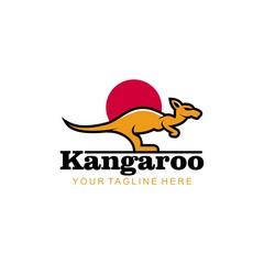 Kangaroo logo © stupic