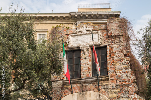 Fotobehang Liguria Casa di Cristoforo Colombo, Genova, Liguria, Italia