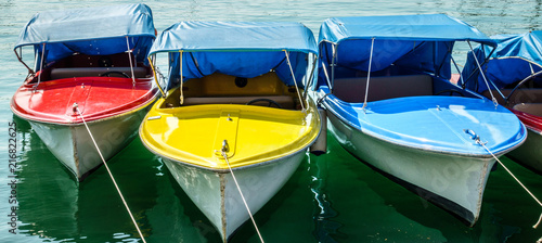 old pedal boat - 216822625