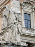 Rom, Kapitol Statue