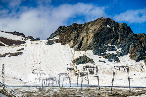 Foto Murales ski lift