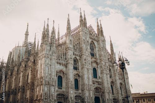 Plexiglas Milan Duomo di Milano (Milan Cathedral) and Piazza del Duomo , Milan, Italy