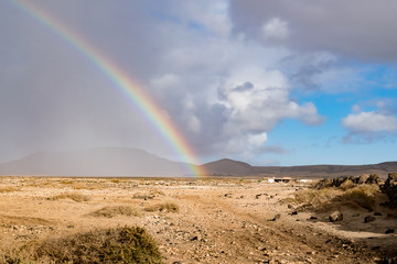 Arcobaleno sul deserto © fotoforfun