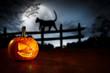 Leinwanddruck Bild - halloween decoration