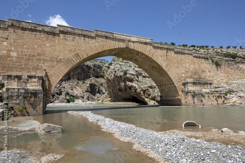 Wall mural Historical Cendere Bridge in Adiyaman Province
