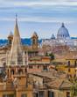 Quadro Rome Aerial View From Pincio Viewpoint