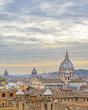 Quadro Rome Cityscape Aerial View