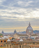 Rome Cityscape Aerial View