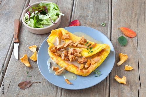 Pfifferling-Omelette - 216866844